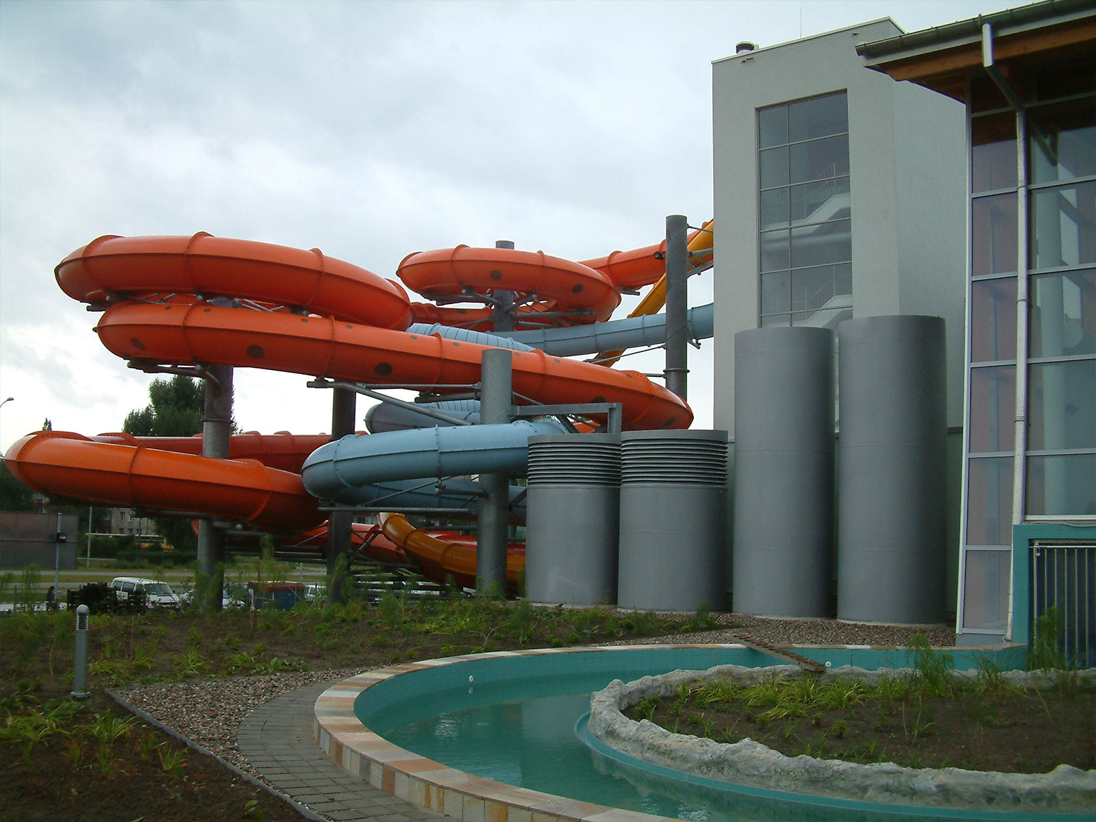 Wrocław Water Park – building inspection